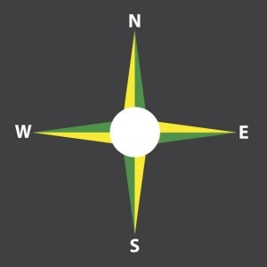 Compass-NSEW